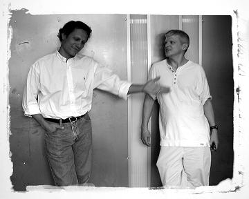 Bruno Rohner & Jim Pollock at Rohner Letterpress 2004 :: Jason Kaczorowski © 2005